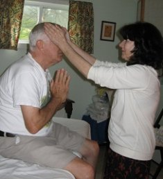 Reiju with Japanese Reiki healing sessions