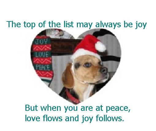 Expereince Love, Peace & Joy
